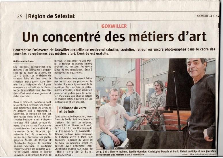 Article L'Alsace G Lauer 01-04-2017