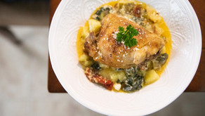 Tuscan Chicken and Potatoes