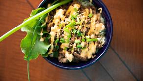Korean Beef (Cauliflower) Rice Bowl