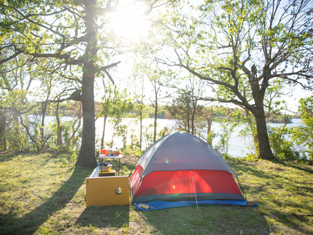Places to Camp Outside of Kansas City:  Pomona State Park