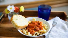 Simple Tomato Basil Pasta Sauce (No Sugar Added!) Using Waterbath Canning Method
