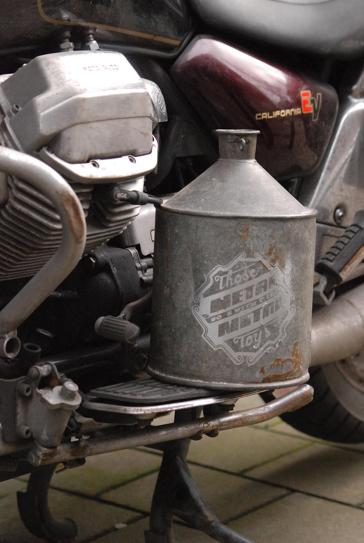 moto and jug