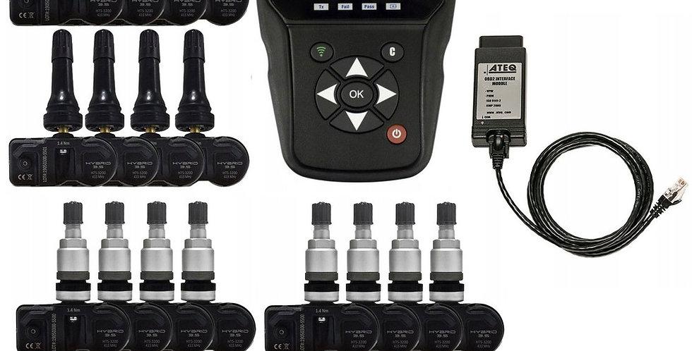 Диагностический сканер ATEQ H46 OBDII и 24 датчика T-Pro Hybrid 3.5 3100 TPMS