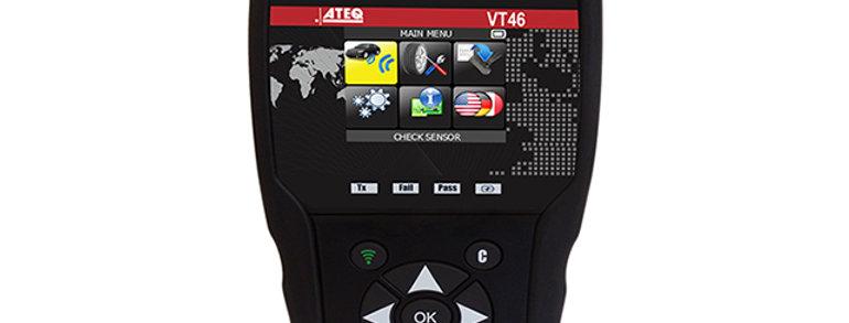 ATEQ VT46 OBDII диагностический сканер для перепрограммирования датчиков TPMS
