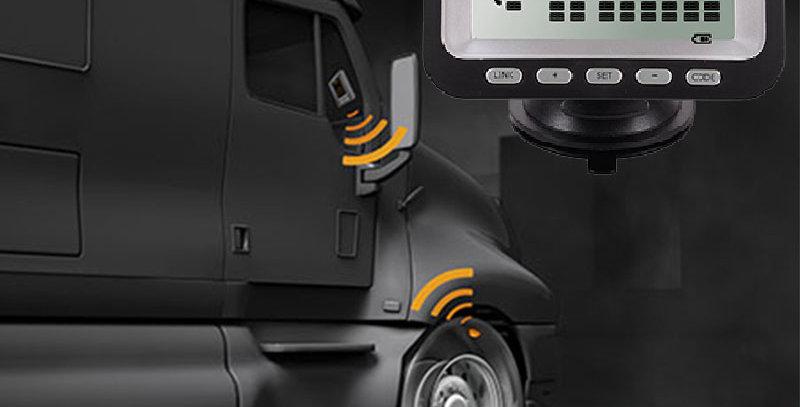Датчики давления колес грузового автомобиля, комплект 12 внешних датчиков