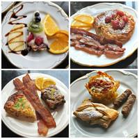 BH breakfast collage