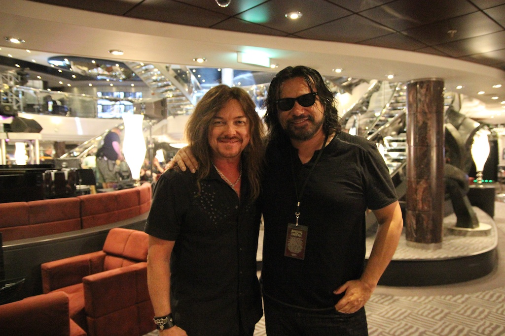 w/Mark Boals of Yngwie Malmsteen