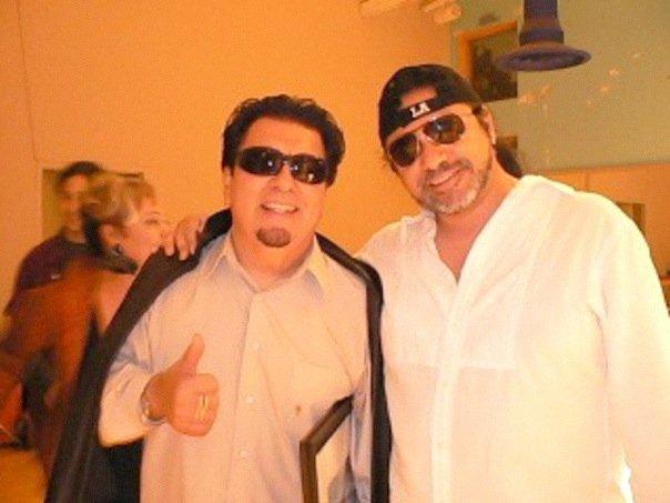 w/Cesar Rosas of Los Lobos 2008