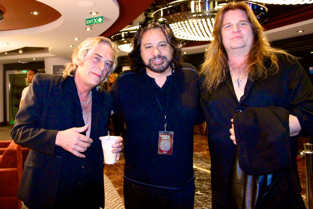 w/Craig Goldy,  Scott Warren of Dio