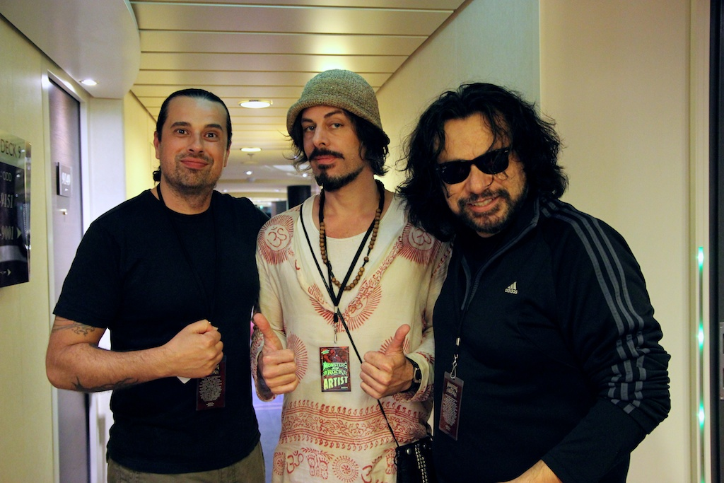 w/Ben Woods and Richie Kotzen