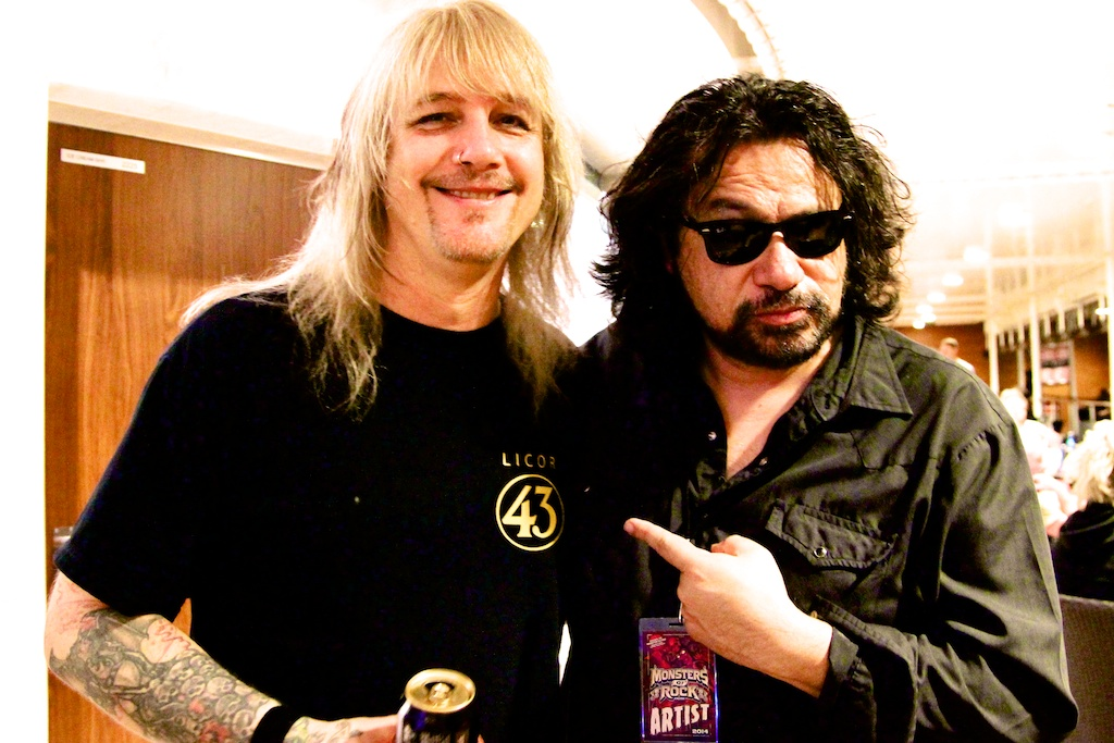 w/Eric Brittingham of Cinderella
