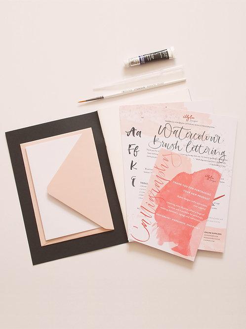 Watercolour Brush Lettering Kit