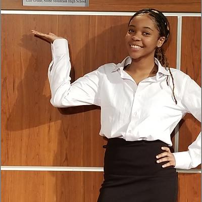 Det. Webber's Mentee and 2019 Stone Mountain High School Graduate Jaia Echols