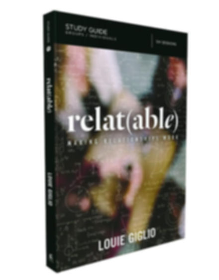 books-louie-giglio-relat-able-study-guid