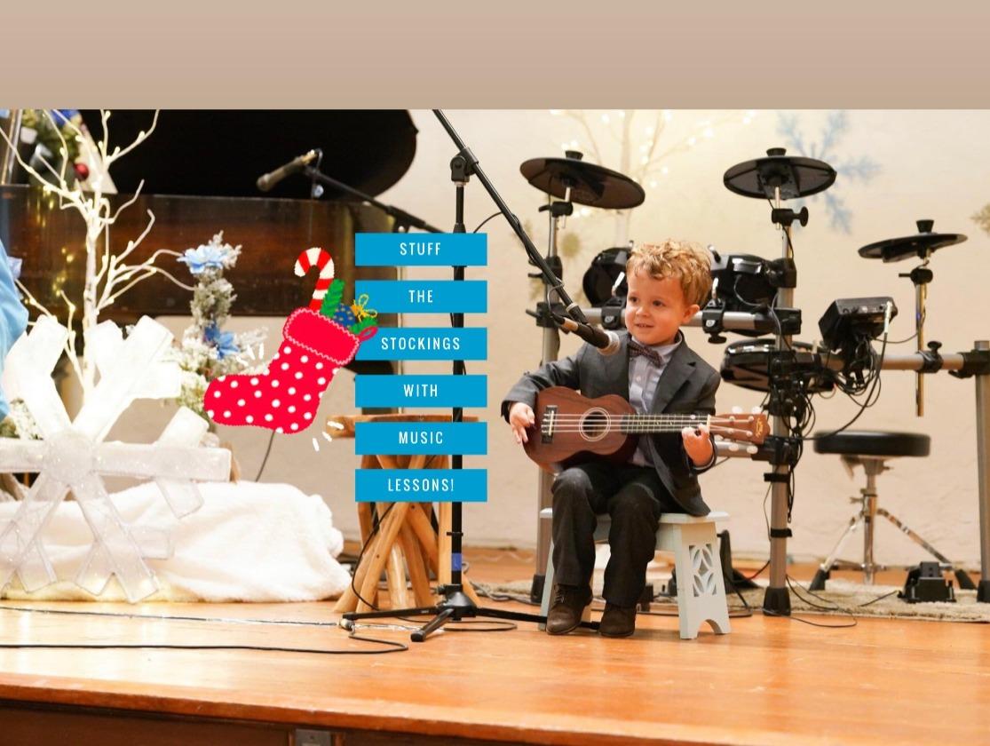 Music Lessons Stocking Stuffer Sale!