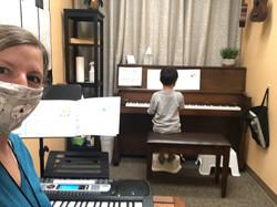 COVID safe piano lessons