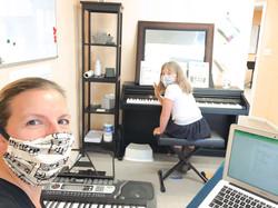 COVID piano lesson modifications