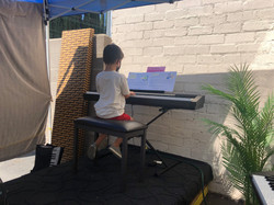Outdoor Piano Lessons