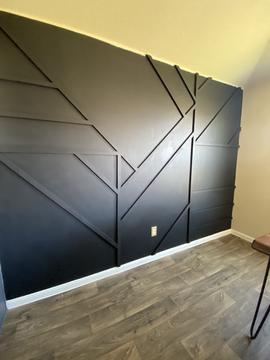 Austin Texas Geometric Wall