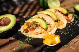 Mango Shrimp Taco