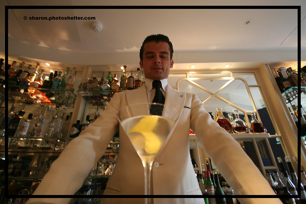 Head Bartender at The American Bar in the Savoy