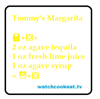 Tommy's Margarita Recipe - Low Sugar Options
