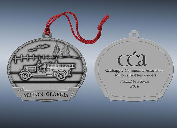2018 Milton 'First Responders' Holiday Ornament