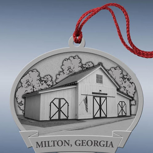 2019 Milton 'Friends of the Milton Library' Ornament
