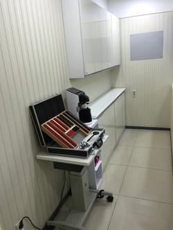 시력검사실