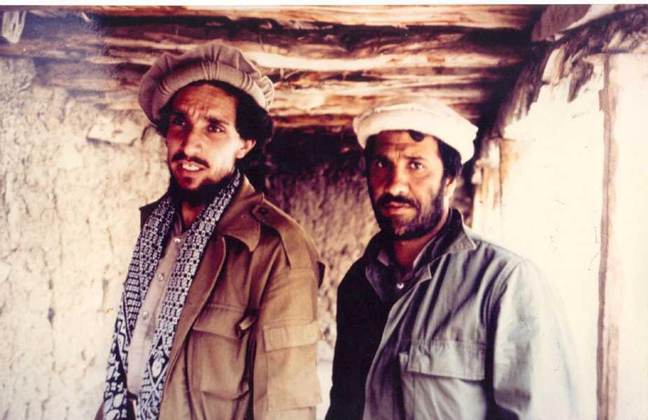 Massoud and Khalili. Takhar. 1987.