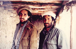 Massoud and Khalili. Takhar. 1987.