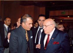 Ambassador Khalili and Turkish Pres.