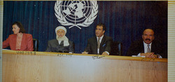United Nations with Pres. Rabbani