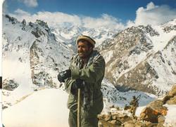 Hinidu Kush Range. Nooristan. 1984.
