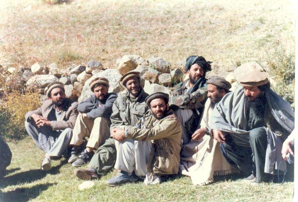 Freedom fighters taking a break