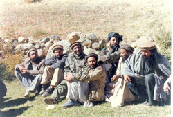 Freedom fighters taking a break