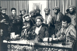 Freedom Conference. Kabul. 1992