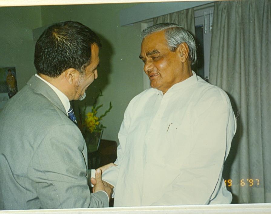 Indian Prime Minister and Ambassador
