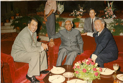 With the Indian President