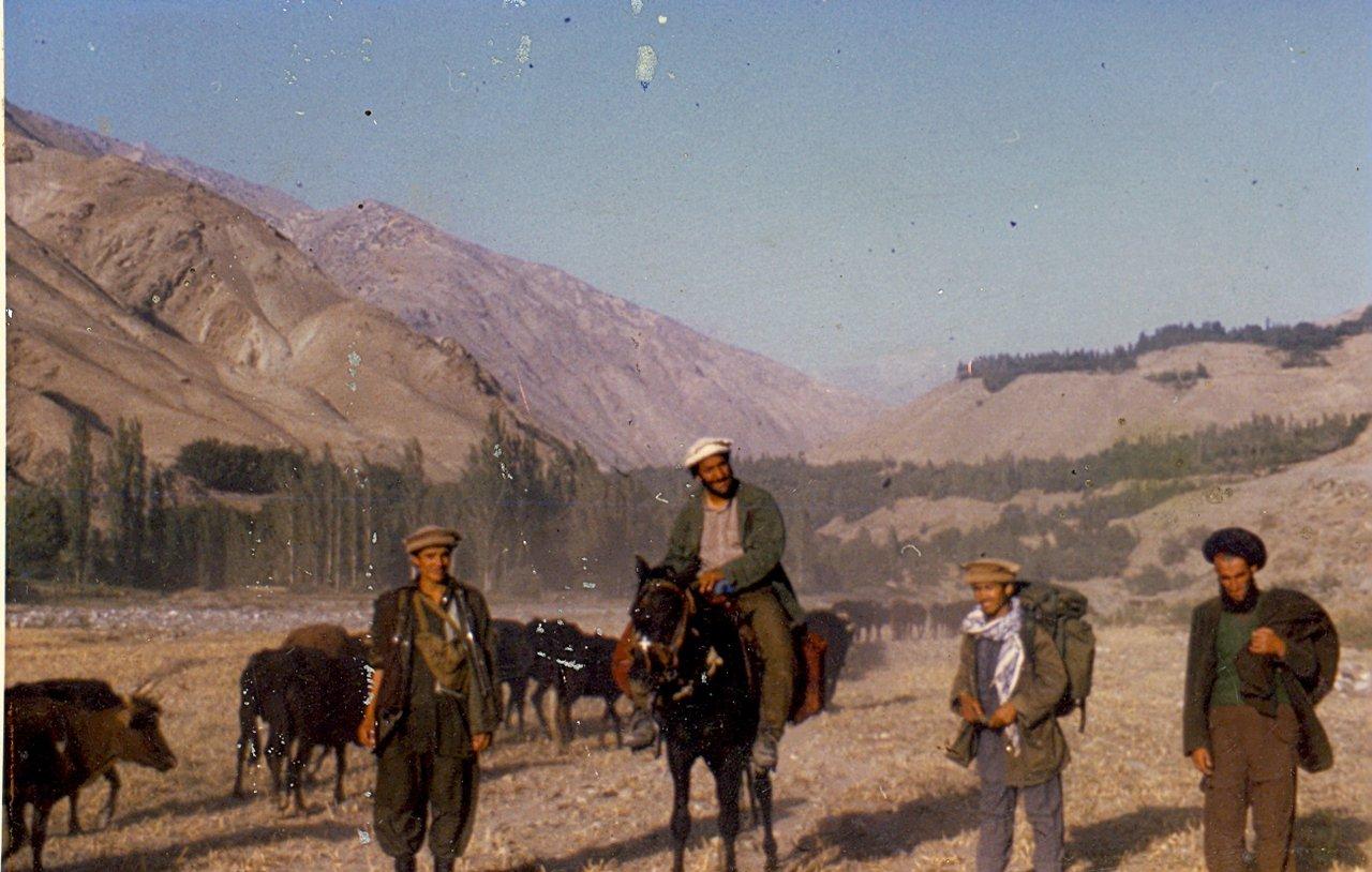 Badakhshaan Mountains. 1986