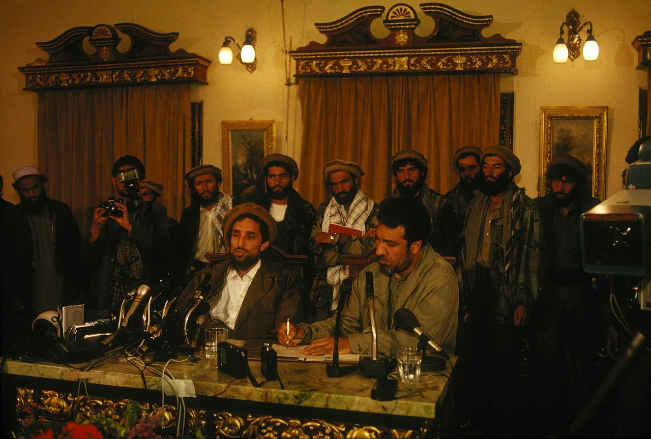 Feedom Conference. 1992. Kabul.