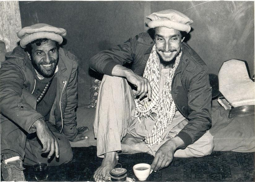 Commander Masood and Khalili
