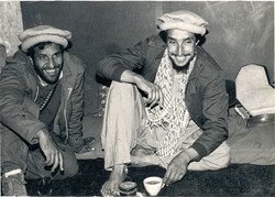 Commander Masood and Khalili