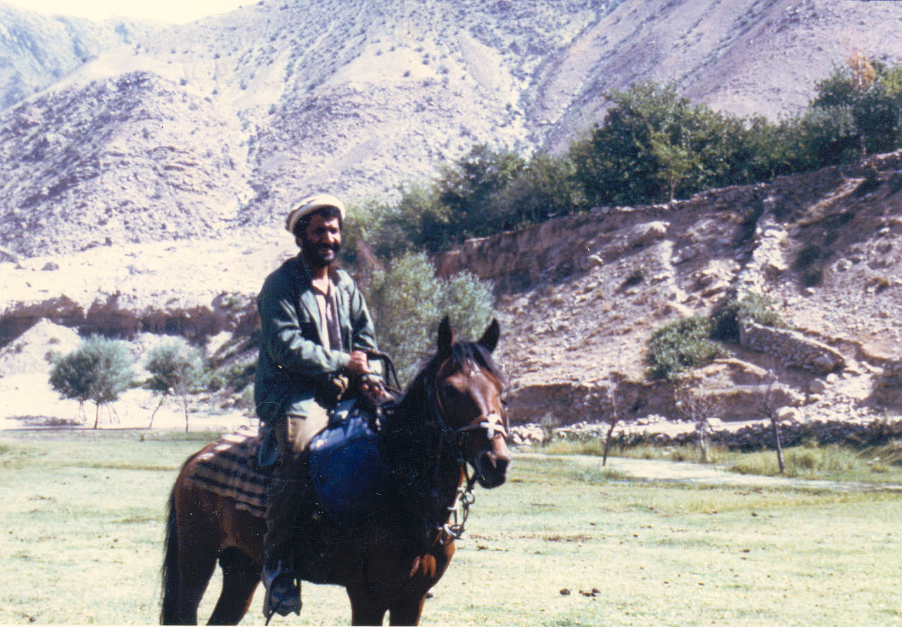 Nooristan with Horse