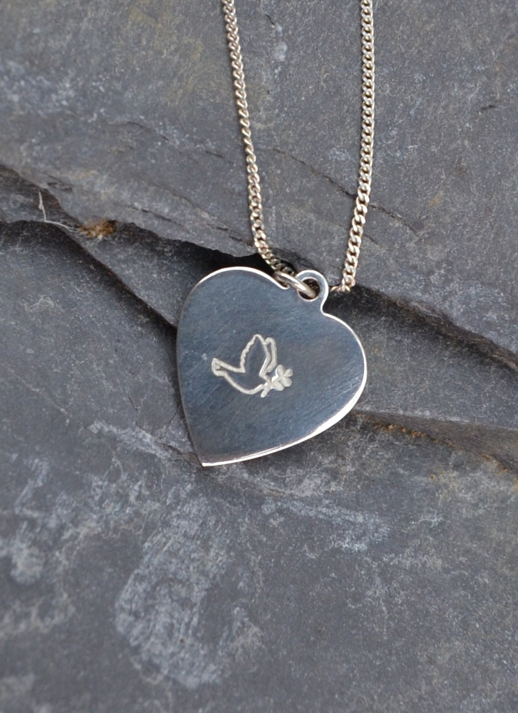 peace pendant, christian jewellery