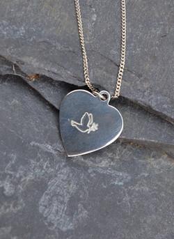 peace pendant, christian jewellery