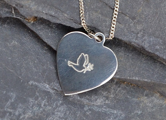 Peace at Heart pendant