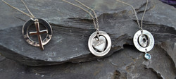 stamped jewellery, christian