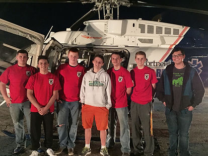 BFD Explorers with Lifeflight