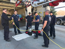 High Angle Rescue Training 2017